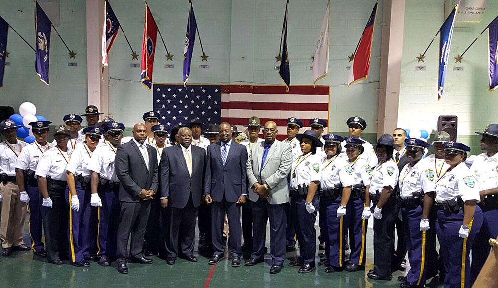 St. Thomas-St. John Police Academy Graduation Ceremony